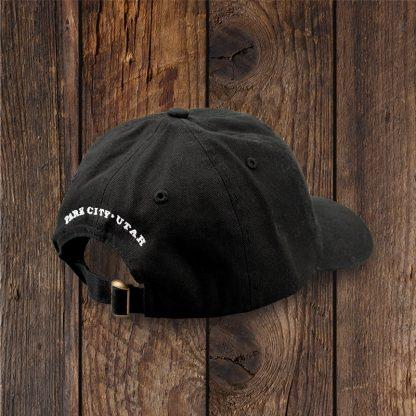 Black Dad Hat Back
